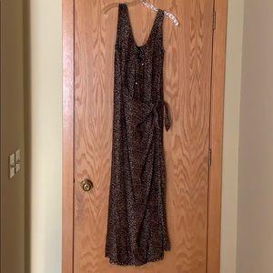 CDC rayon maxi dress.